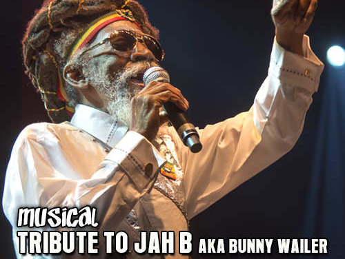 Musical Tribute To Jah B aka Bunny Wailer