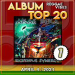 Reggae Vibes Album Top 20 | April 4 | 2021