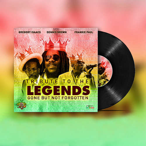 Gregory Isaacs x Frankie Paul x Dennis Brown - Tribute To The Legends, Gone But Not Forgotten