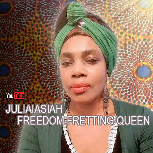 Juliaiasiah feat. Mike Onsite - Freedom Fretting Queen