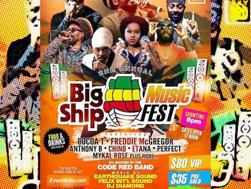2nd Annual Big Ship Music Fest 2021