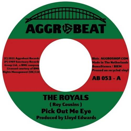 The Royals - Pick Out Me Eye
