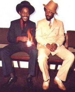 Dennis brown & Junior Delgado