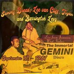 Gemini Sound, ft. Sammy Dread, Toyan, Lee van Cliff & more. September 12, 1981