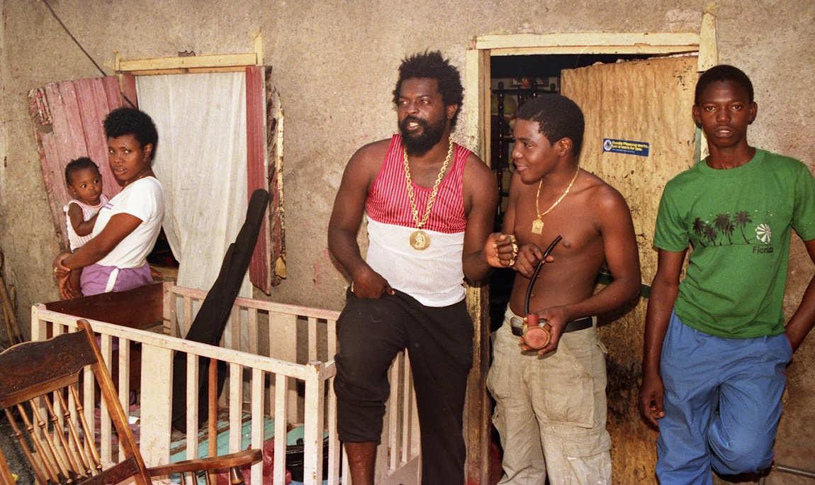 Junior Delgado with Yammy Bolo 1987 (Photo: Beth Lesser)