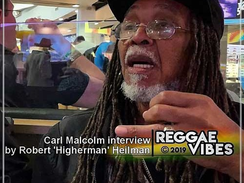Carl Malcolm Interview