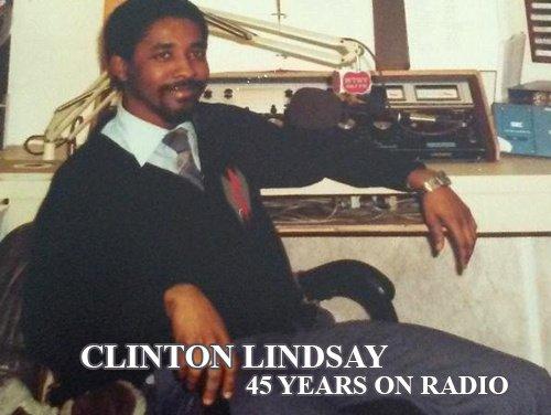 Clinton Lindsay 45 years on radio