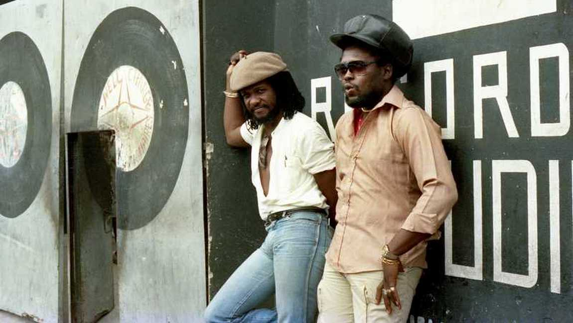 Sly & Robbie Channel One 1984 (Photo: Beth Lesser)